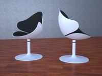 3dsmax sintesi giant bubble armchair