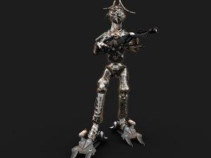 max animation gun