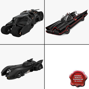 batman cars batmobile 3d 3ds