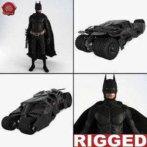 3d batman v3 model