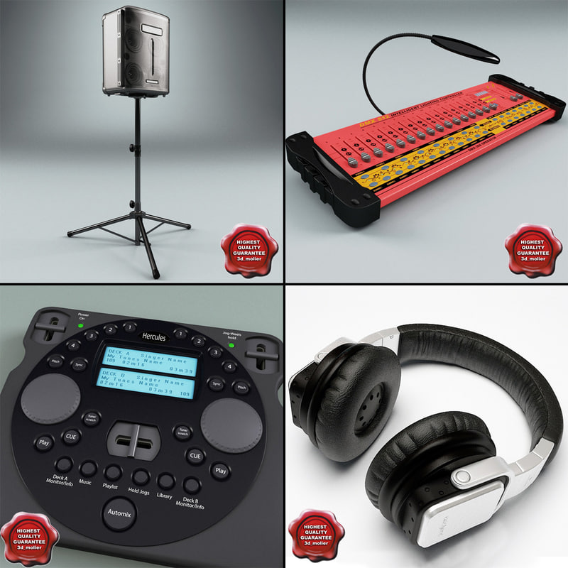 3ds dj equipment v3