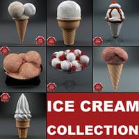 ice cream v3 3d model