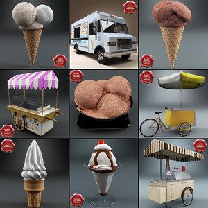 3d ice cream v4