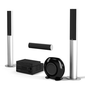 kef stereo home max