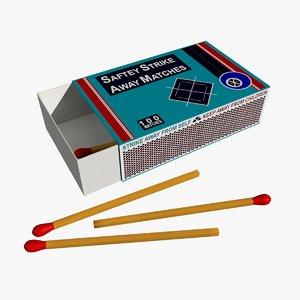 max matches box