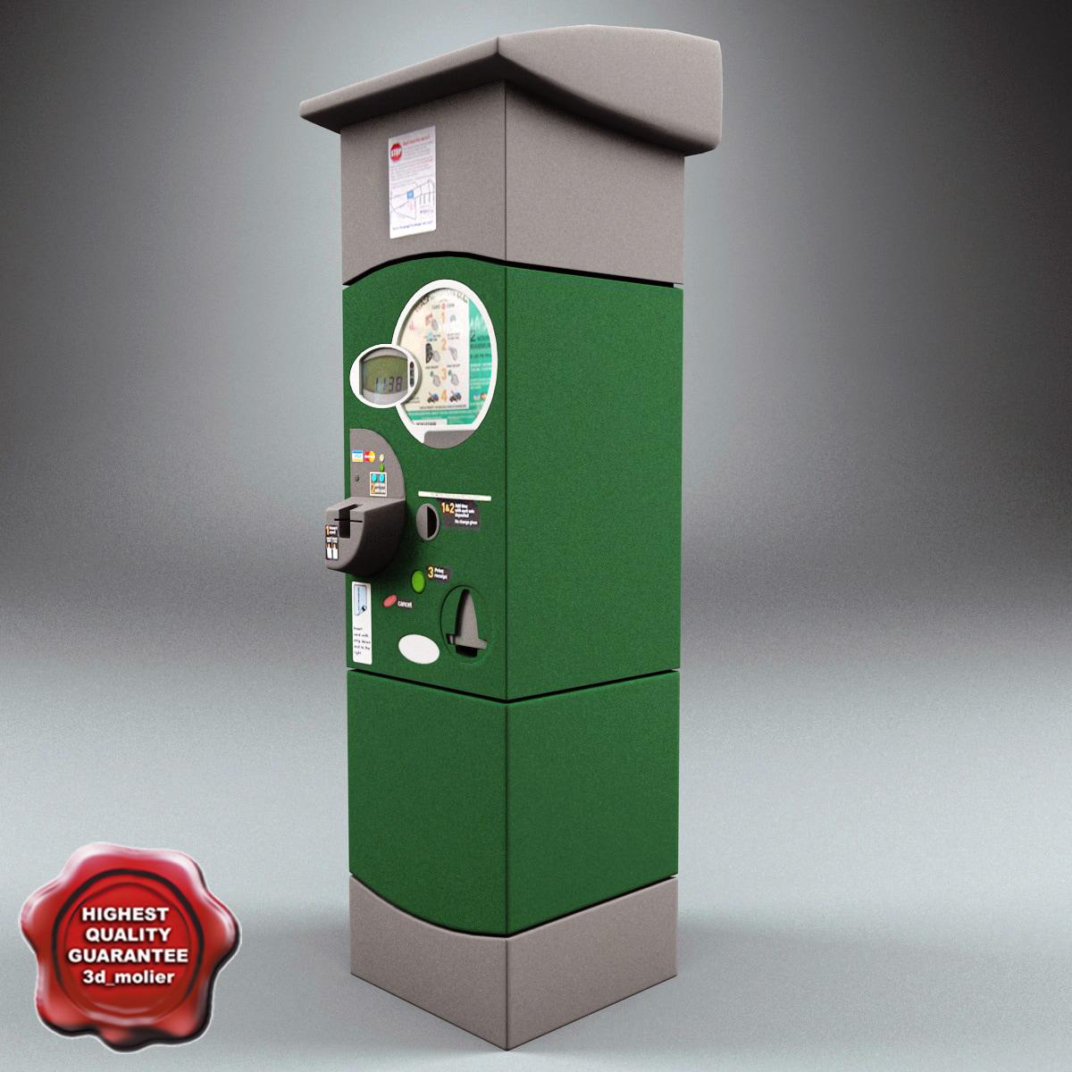 3d parking meter v4