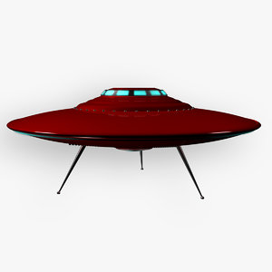 obj retro ufo