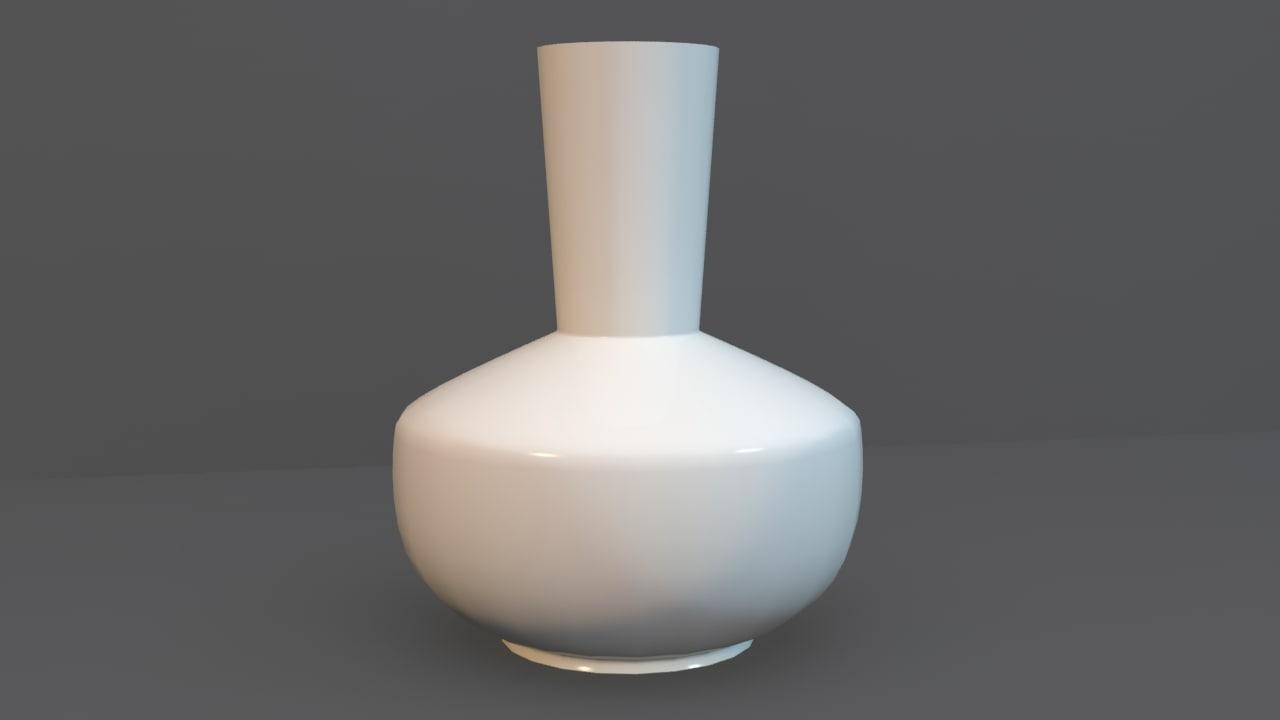 free max mode ceramic vase