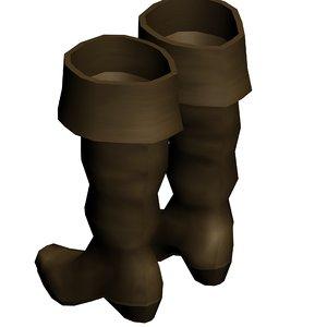 3d century cavalier boots model