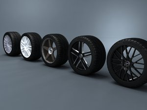 3d enkei wheels