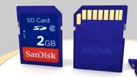 3d sd sandisk disk model