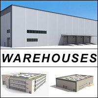 3d model warehouses buildings collections