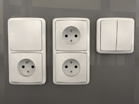 outlets switches c4d