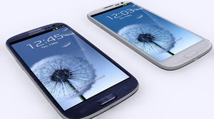3d model samsung galaxy s3