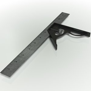 carpenter s square 3d max