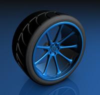 sport wheel 3d 3ds