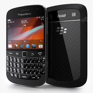 blackberry bold 9900 3d c4d