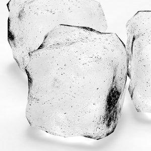 3ds max ice cube