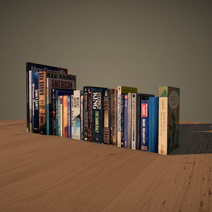3d books english