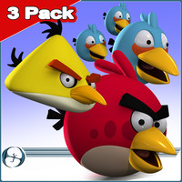 3 Pack: Angry Birds