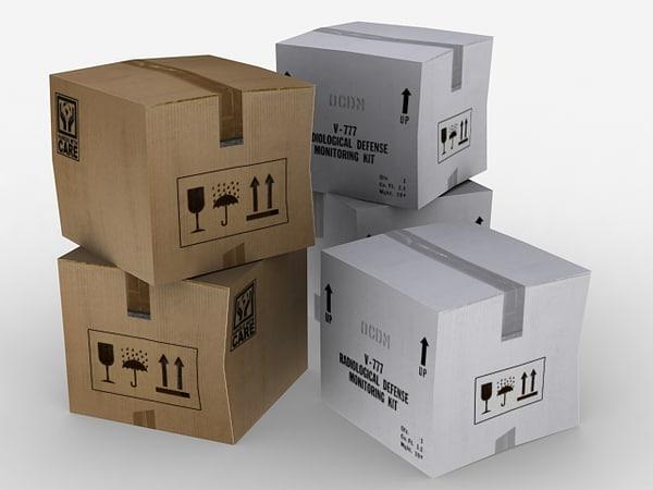 cardboard boxes max