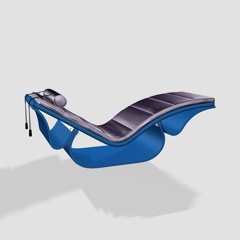 athletic easy chair rio 3d max