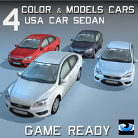 4 Color & Models Cars USA Car Sedan