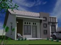3d house living model