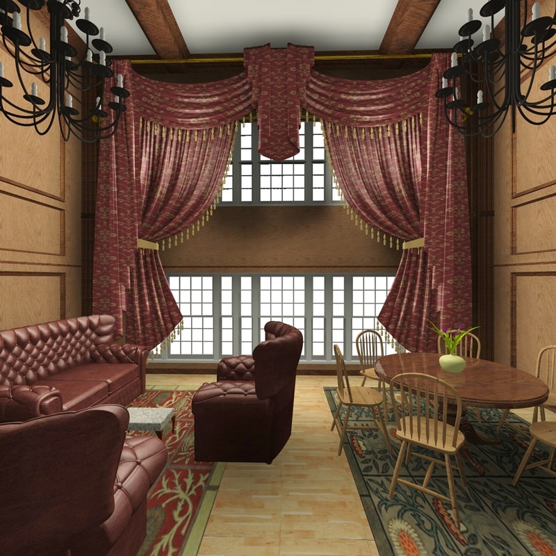 interior home 3d 3ds