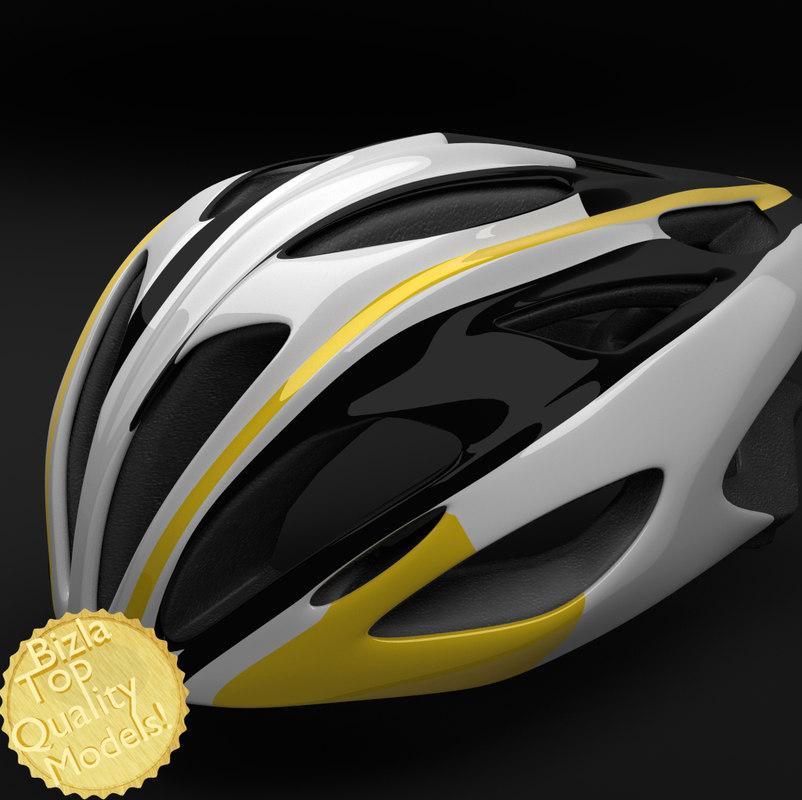 bell alcherra racing bike helmet 3d obj