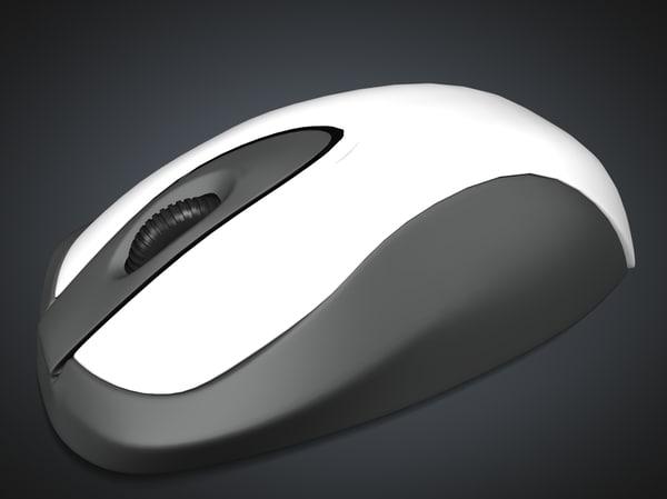 mouse 3d obj