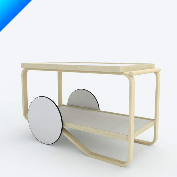 tea trolley 901 3ds
