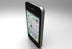apple iphone obj
