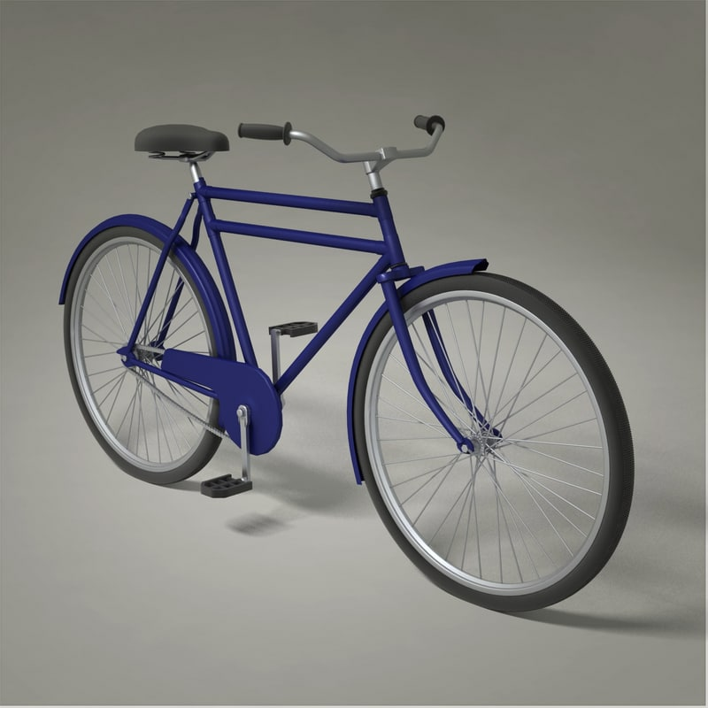bike rendered 3ds