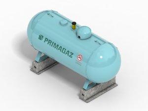 3d gas tank