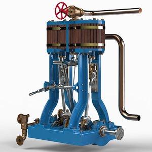 maya launch engine steam 1889