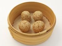 sesame balls 3d model