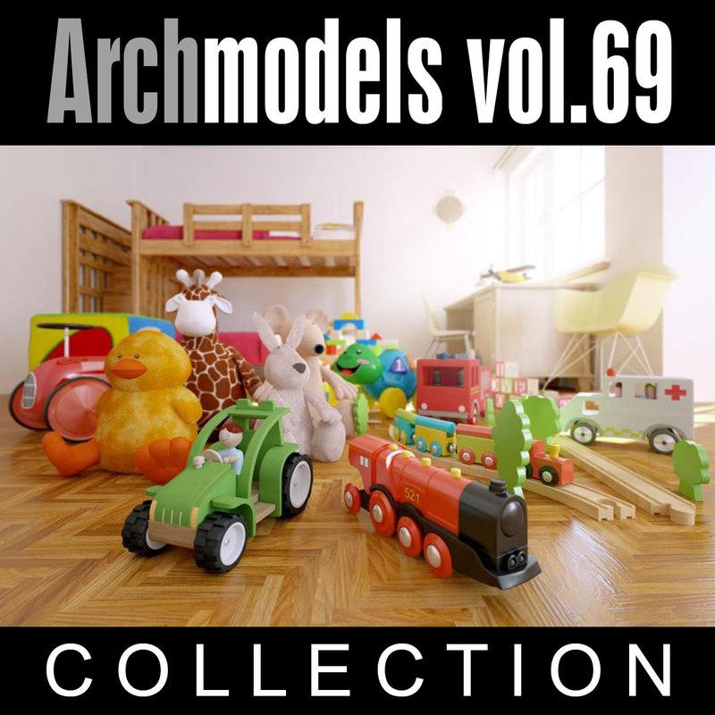 3d archmodels vol 69