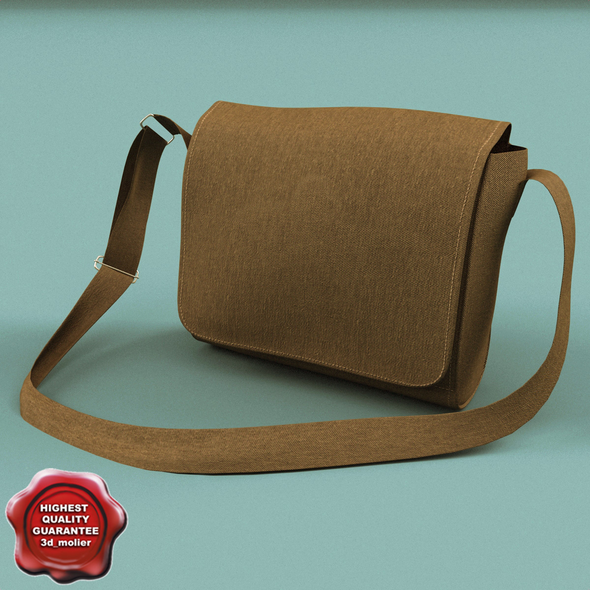 3ds max army bag