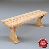 3d bench v6 model