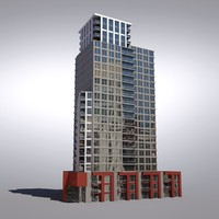 3d buildings vancouver architectural model