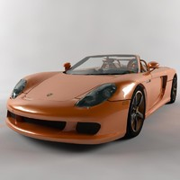 3d gt car model