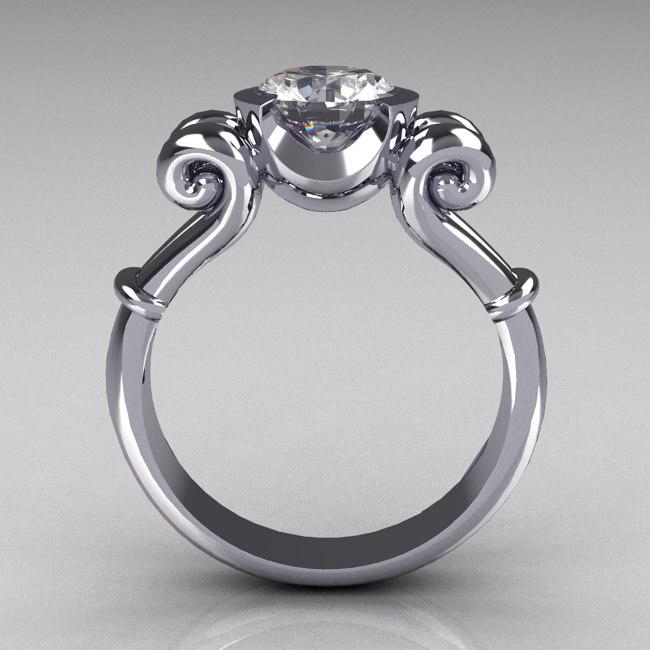 3d antique ring model