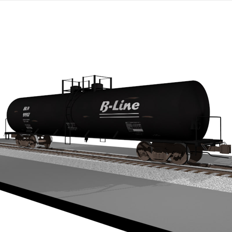 cinema4d train car tank