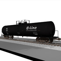 cinema4d train car tank