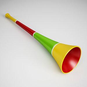 3d party horn 04 model
