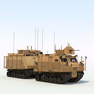 3d warthog atv