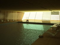 Indoor Swimming Pool Scene