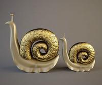 3d model of snails