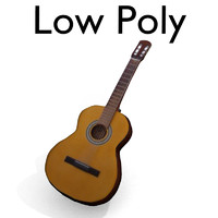 Low Poly Guitar